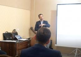 برگزاری کارگاه آموزشی خودارزیابی بر مبنای مدل EFQM در شرکت آب و خاک قدس رضوی