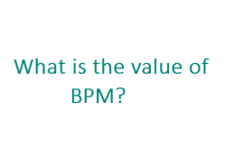 What is the value of BPM